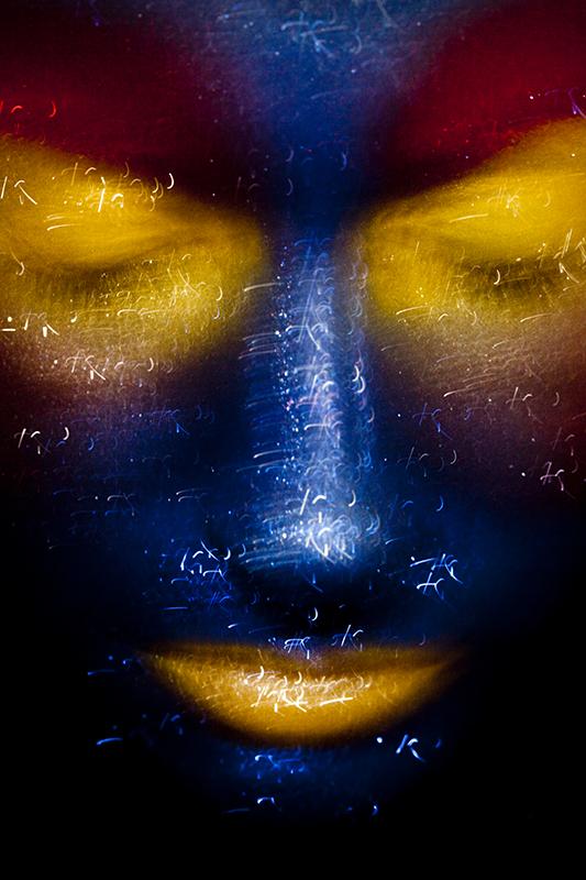 Autoportrait artistique de Nadia Wicker