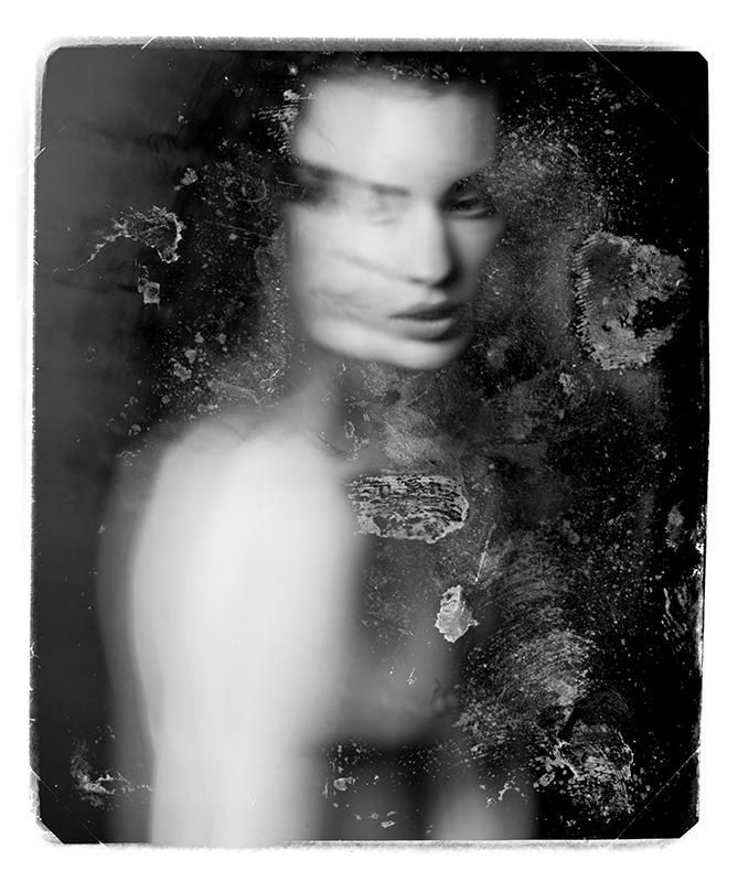 Photographie noir et blanc de Nadia Wicker
