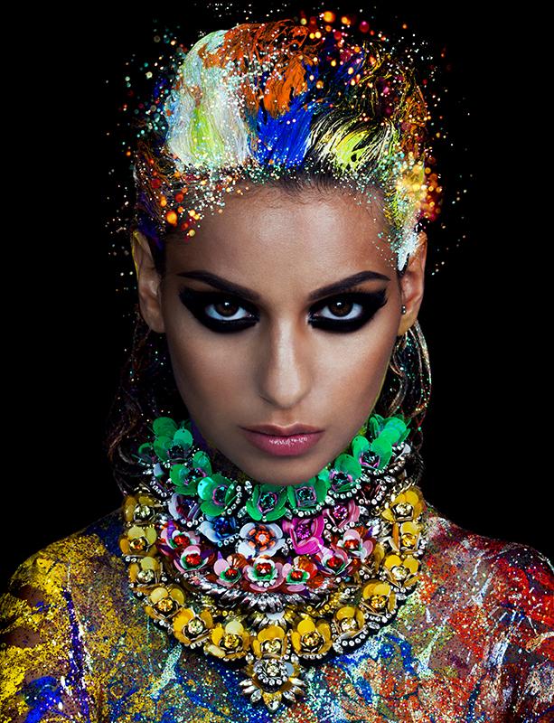 Photographie de la chanteuse Tal par Nadia Wicker